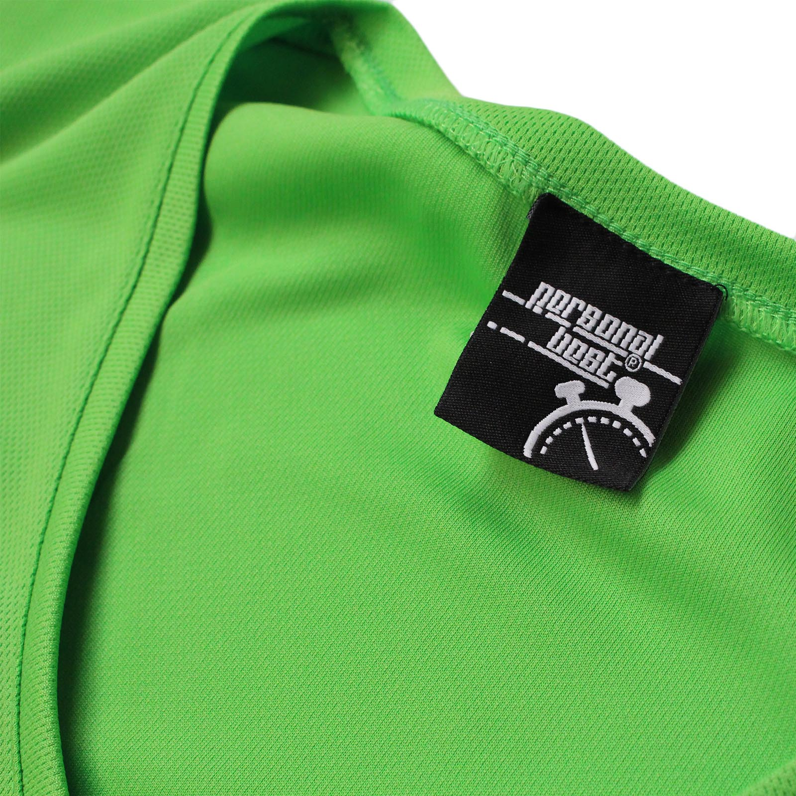 PB Dry Fit Breathable Sport V Born To Run Forced To Work NECK T-SHIRT