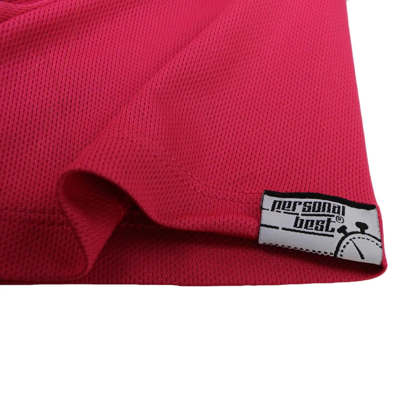 PB-Born to Run forcés de travailler-dry fit Respirant Sport T-Shirt col V