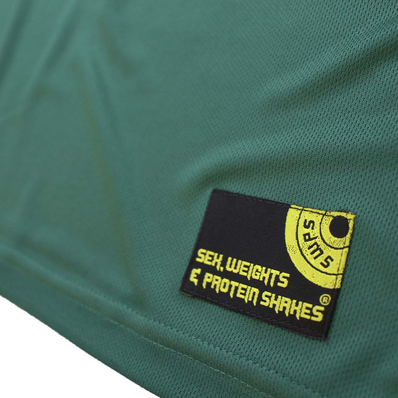 Swps NO PAIN NO GAIN Cheeseburger Dry Fit Sport T-shirt