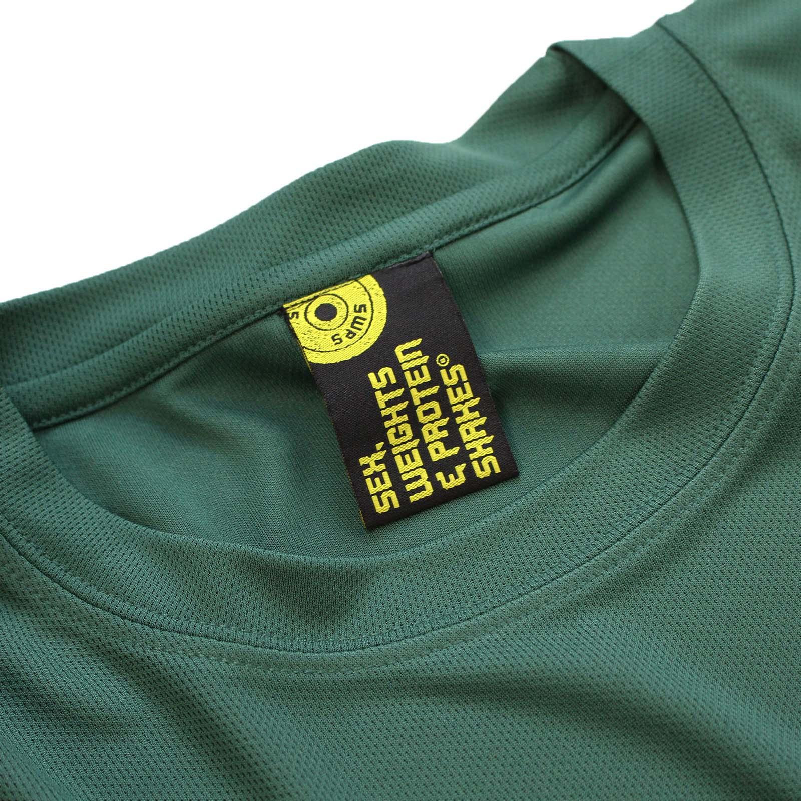 SWPS Gym Drug Of Choice Premium Dry Fit Sports T-SHIRT