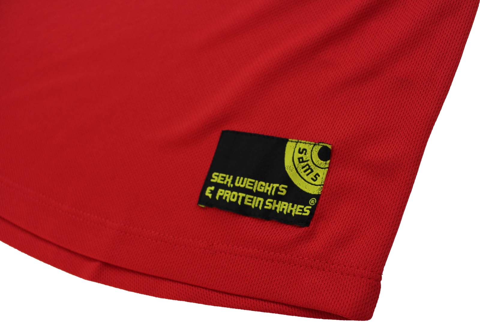NECK T-SHIRT Premium Dry Fit Breathable Sports V Push Your Limits SWPS