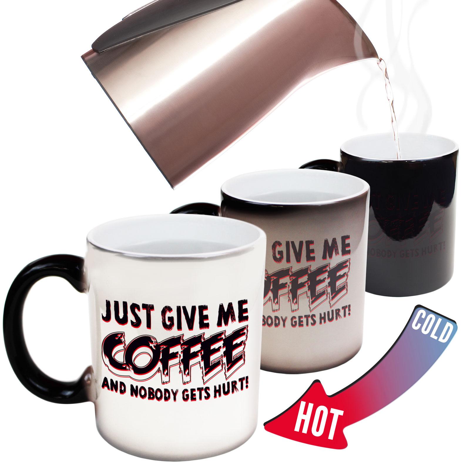 Coffee Energy Adult Humour MAGIC NOVELTY MUG Funny Mugs Caffeine Chemical