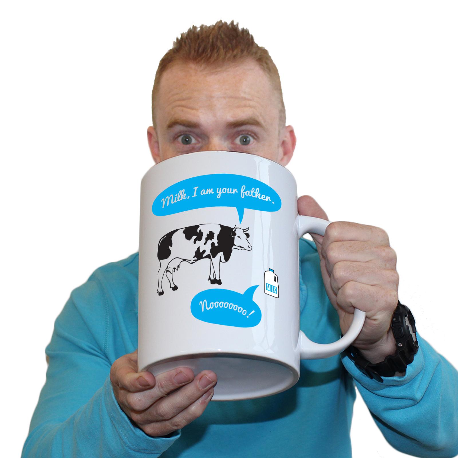 Funny Mugs Milk I Am Your Father Kitchen GIANT NOVELTY MUG secret ...