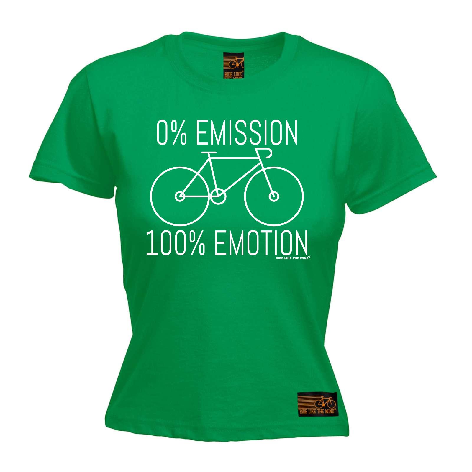 Cycling 0 Emmission 100 Emotion bicycle cycle funny Birthday T SHIRT T-SHIRT