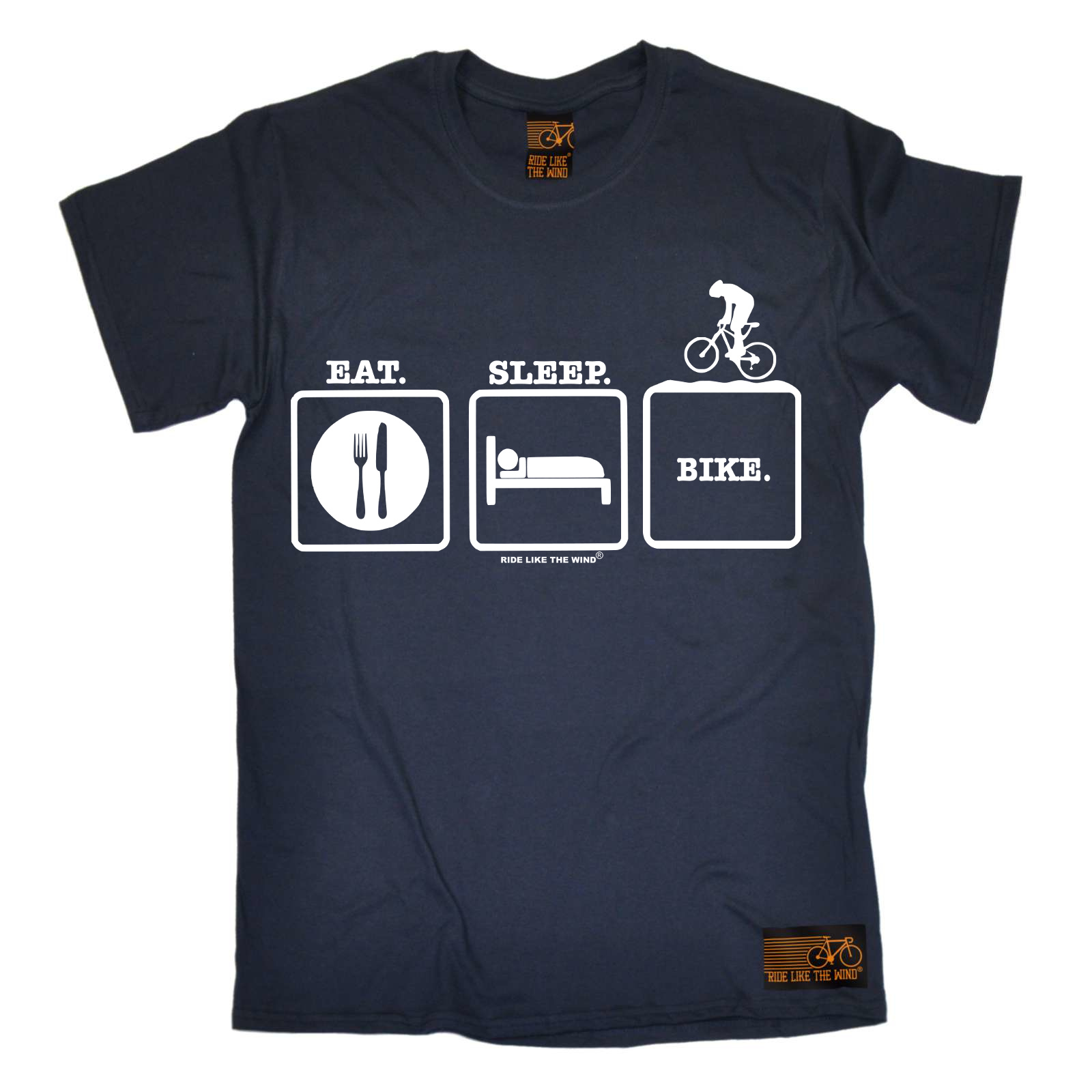 Cycling-Eat-Sleep-Bike-funny-top-Birthday-tee-T-SHIRT-T-SHIRT