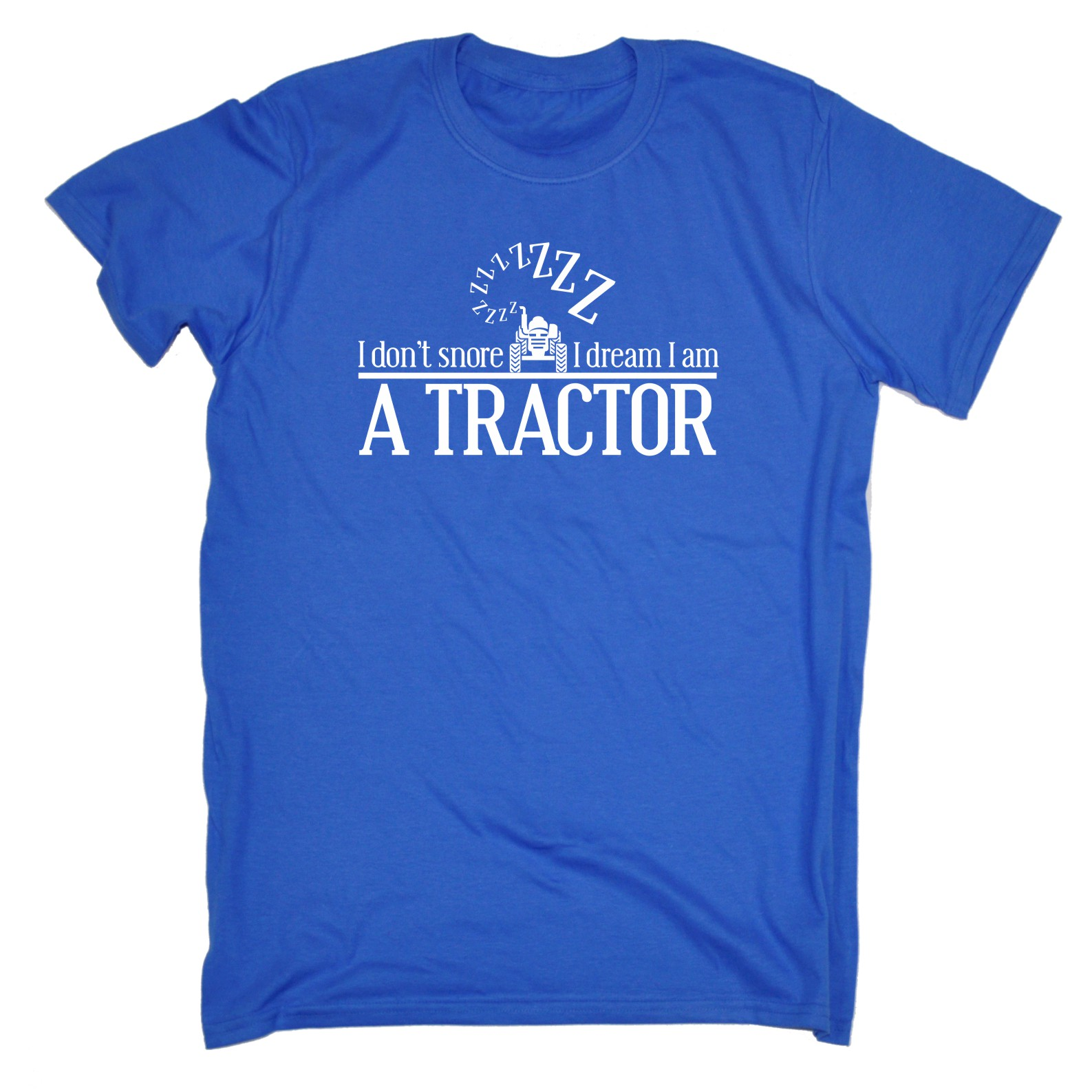 Co Op Tractor Pulling T Shirt : I dont snore dream am a tractor funny joke farmer