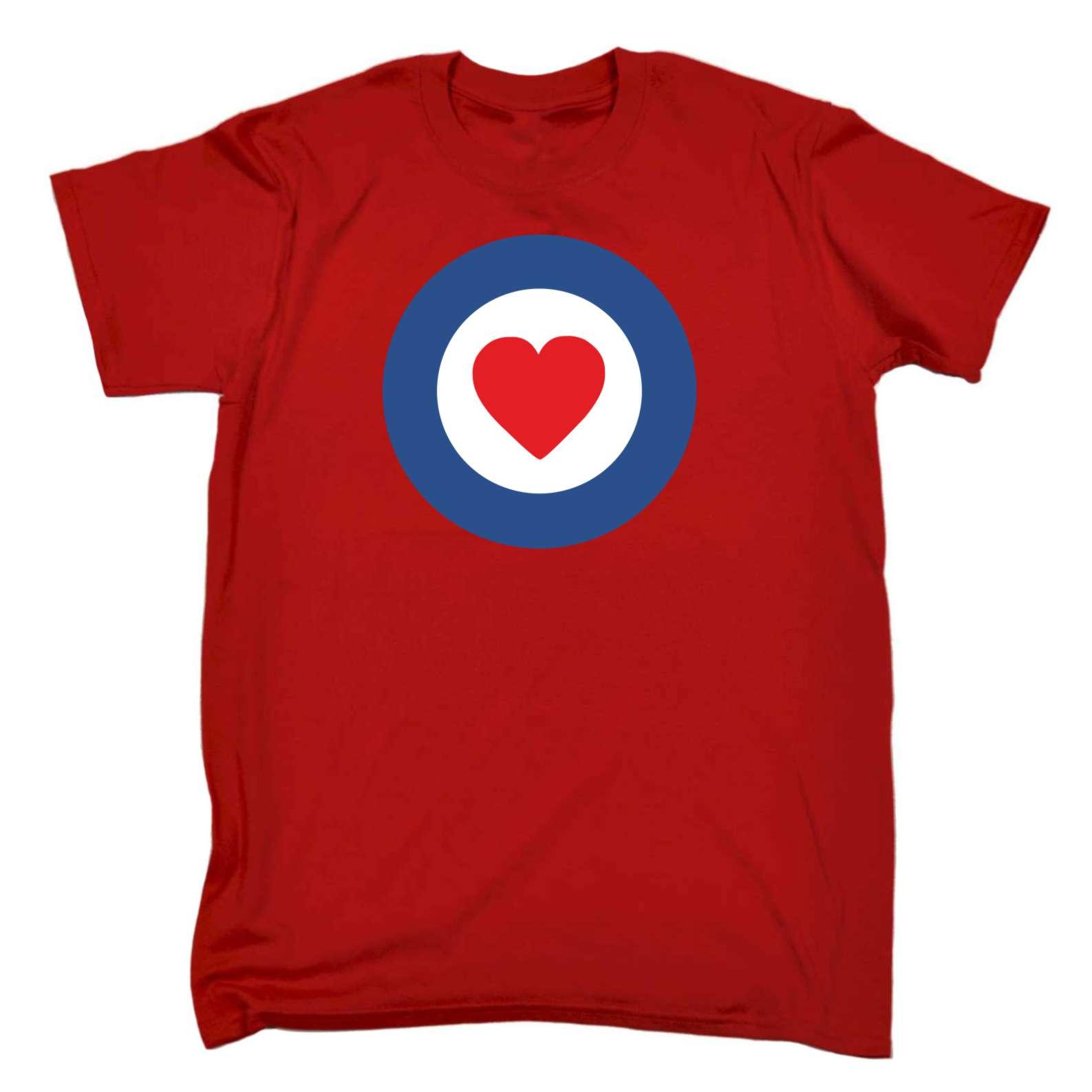 Funny T Shirt Target Heart Love Boyfriend Girlfriend