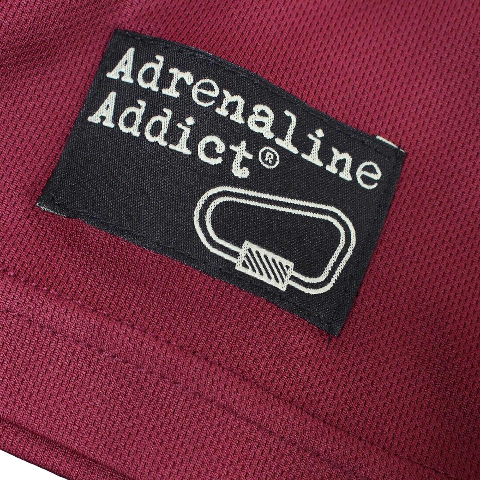 Eat Sleep Climb Premium Dry Fit Breathable Sports T-SHIRT Adrenaline Addict