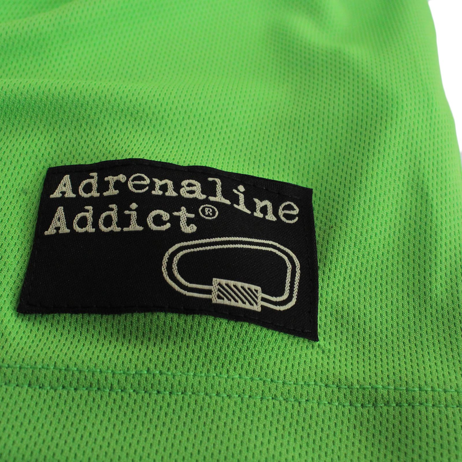 Adrenaline Addict Climbing Sun NECK T-SHIRT Dry Fit Breathable Sports V