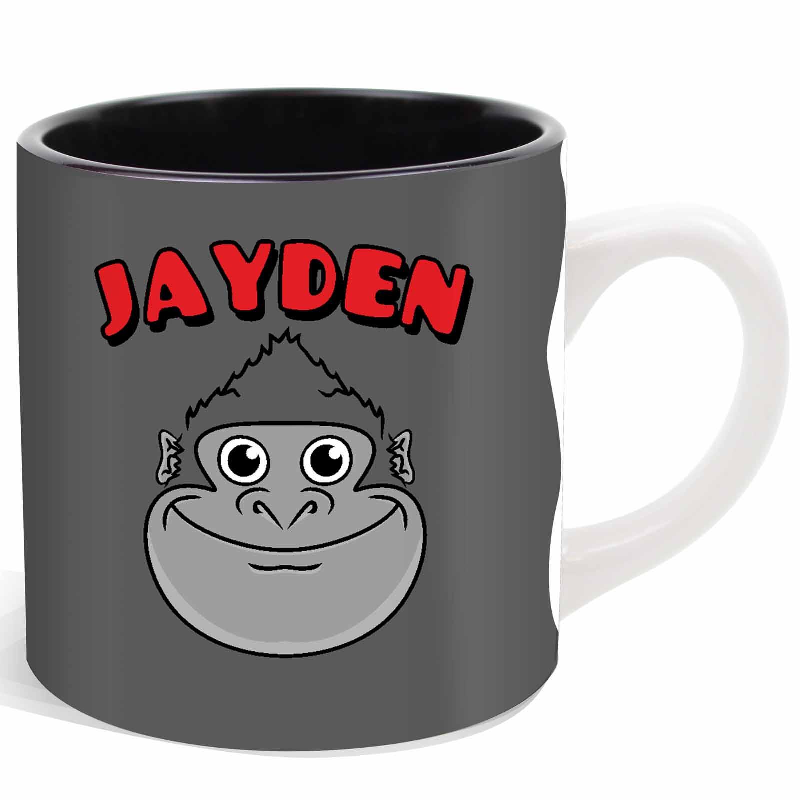 Animal Coffee Mugs Personalised Ani Mates Childrens Mug Cup Gift Boxed Kids