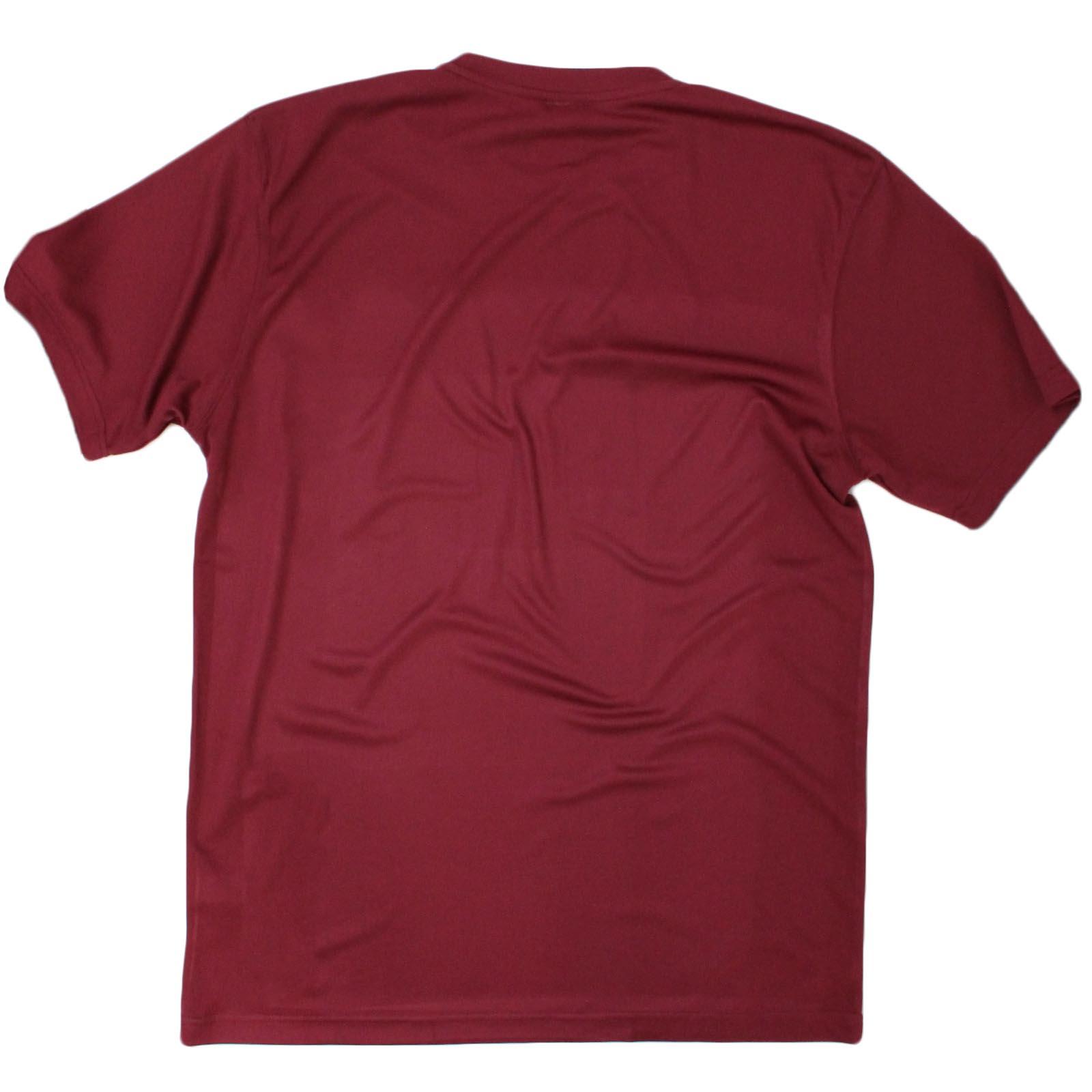 Hombres Sexo pesos y batidos de proteínas debilidad es una opción Dry Fit camiseta deportiva